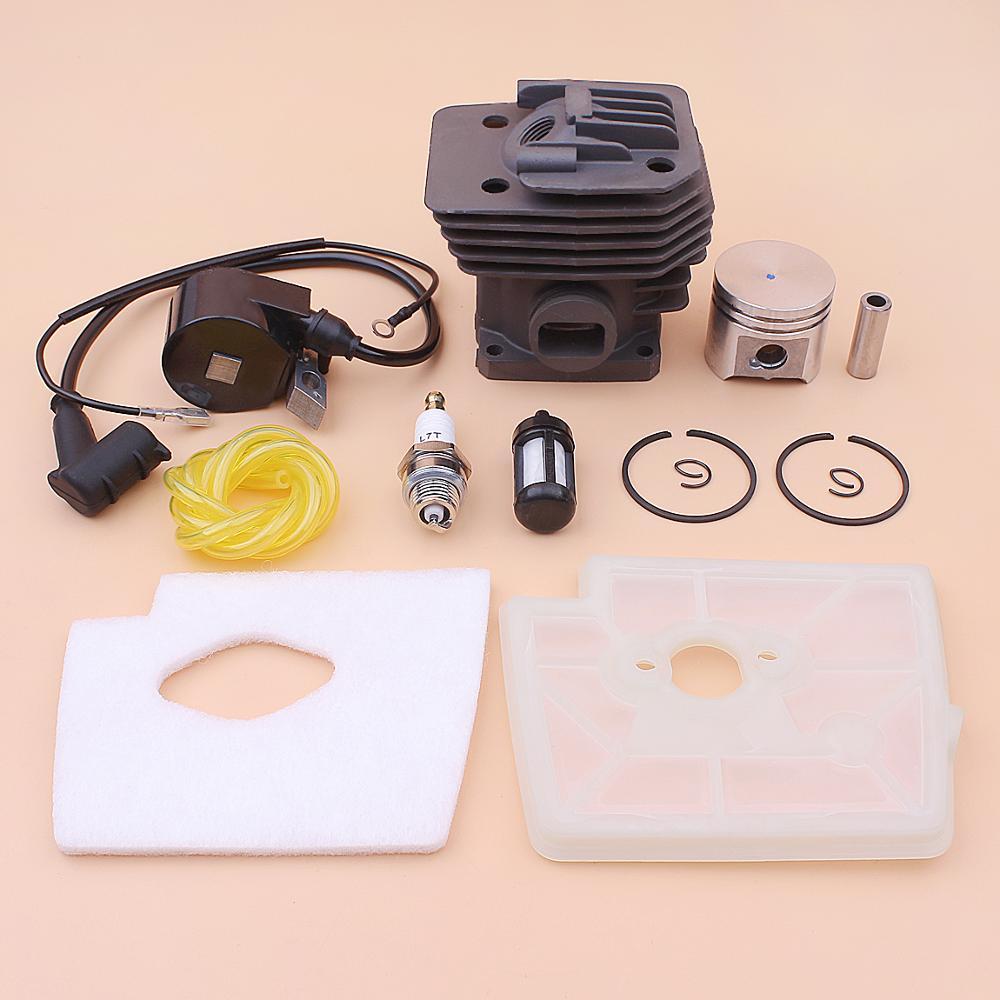 38mm Cylinder Piston Ignition Coil Kit For Stihl FS160 FS220 FS280  Air Fuel Filter Line Trimmer 4119 020 1204