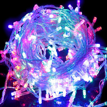 10M 100Leds Garland LED String Lights EU 220V New Years Holiday Garden Wedding Party Outdoor Indoor luces led decoracion