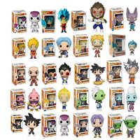 2019 Funko Pop Dragon Ball figuras de Super acción Goku Vegeta niños regalos de navidad Dios muñeca Super Saiyan modelo Juguetes