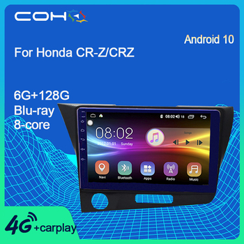 COHO-Radio Multimedia con GPS para coche, Radio con reproductor, Navegador, Android 10,0,...
