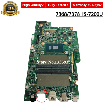 FOR DELL Inspiron 13 7368 7378 Mainboard I5-7200 SR2ZU CN-00M56T 0M56T 00M56T Laptop Motherboard