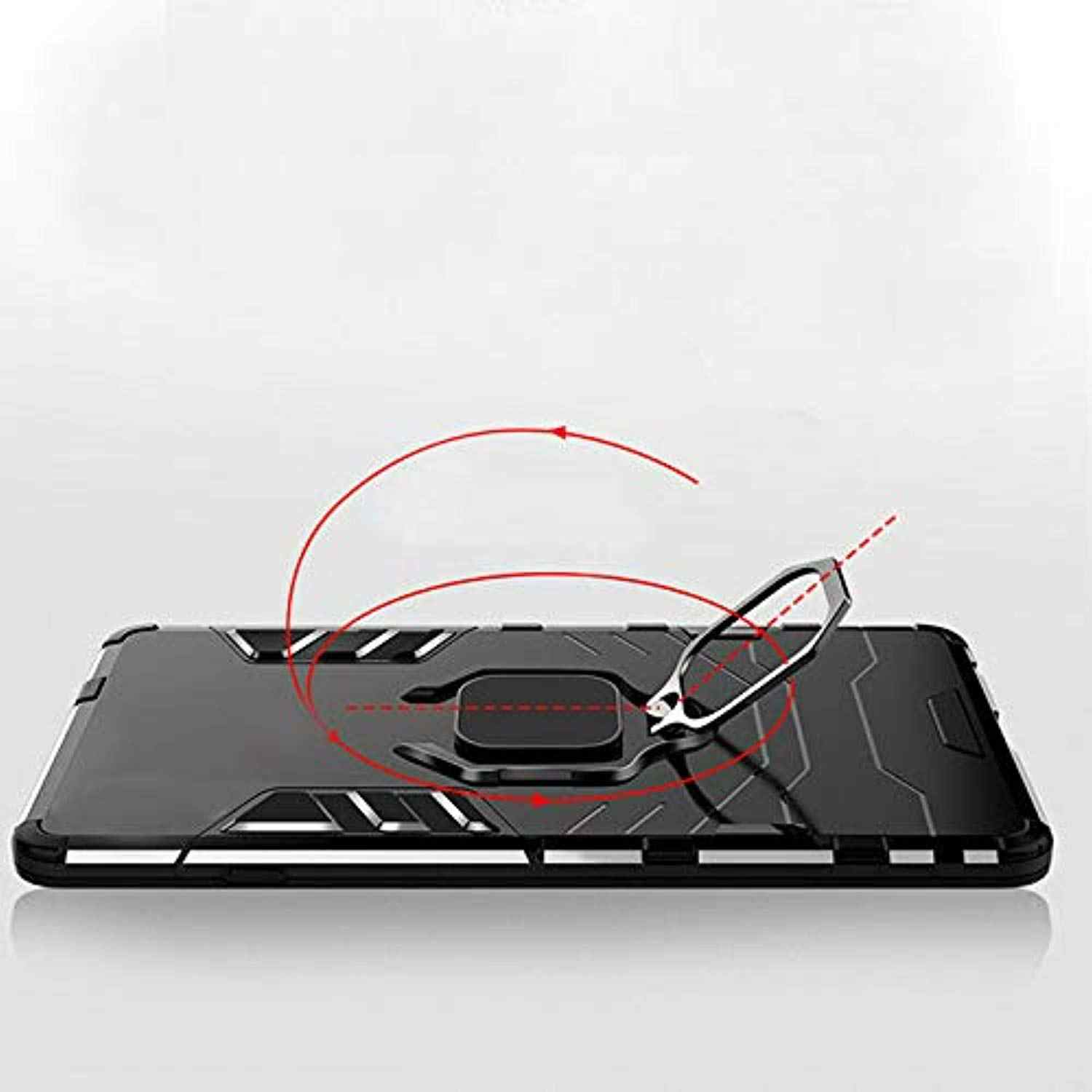 Luxury Armor Case For Samsung A20 2019 Cover Magnetic Car Holder Ring TPU + PC Hard Caso Fundas for Galaxy A30 A10 A40 A50 A70