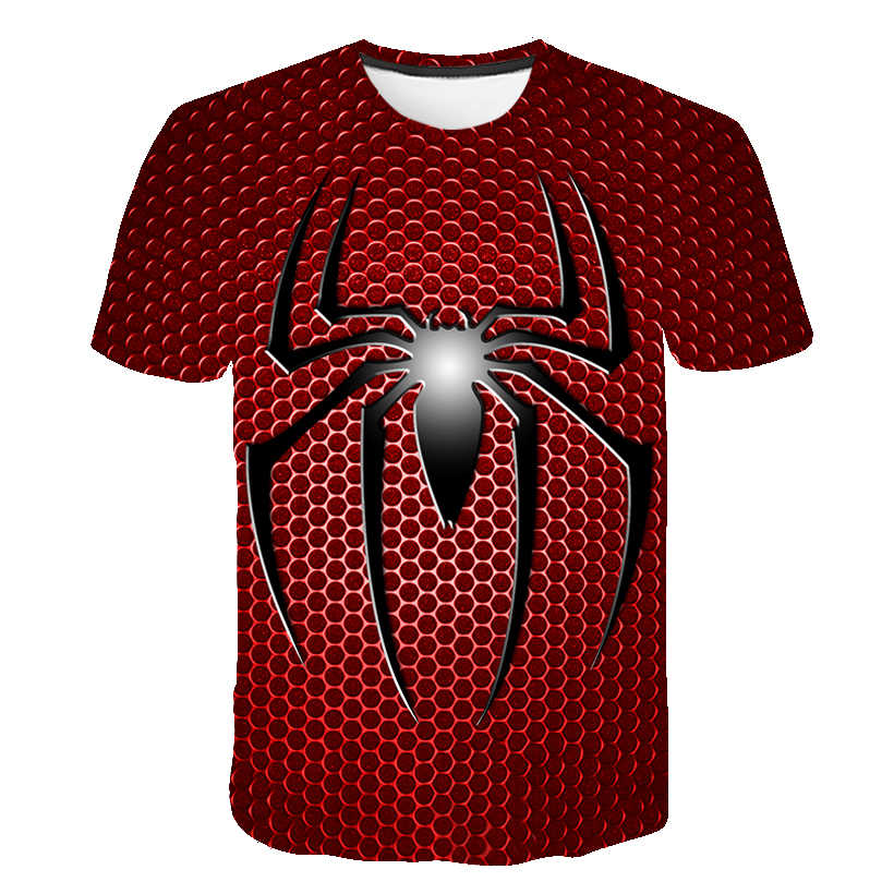 Zomer 3D Baby Batman Spiderman Ironman Superman Captain Anime T-shirt Kind Kostuum Comics Superheld Jongens Kleding Straat Top