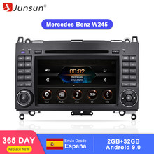 Junsun 2 din Car Radio reproductor de dvd de coche para Mercedes Benz Sprinter B200 Clase B W245 B170 W169 Android 9,0 GPS 4 + 64GB opcional(China)