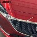 Для Mazda 6 Atenza 2019 2020 ABS Хром передний бампер решетка капота Крышка двигателя планки автомобильные Стайлинг Аксессуары
