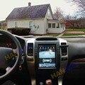 Автомобильный радиоприемник Tesla Style 4 + 64 ГБ GPS-навигация для Toyota Land Cruiser Prado 120 150 Lexus GX470 2002-2009 стерео Мультимедийный Плеер