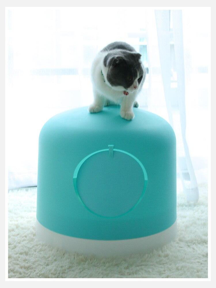 Умывальник для кошачьего туалета, полностью закрытый, очень большой дезодорант, дезодорант, влагозащищенный, кошачий Туалет, кошачий Туалет, котенок, товары для домашних животных