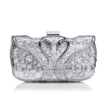 цены Tanpell New Diamond-Encrusted Clutch Evening Bag Lady Fashion Luxury Wedding Party Handbag Dress Evening Bag