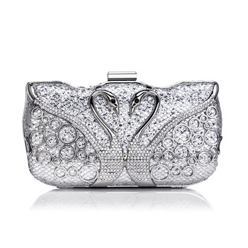 Tanpell New Diamond-Encrusted Clutch Evening Bag Lady Fashion Luxury Wedding Party Handbag Dress