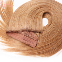 Yesowo Flip In 100g Remy Cheap Straight High Quality Real Human Hair Extensions Halo Hair Extensions