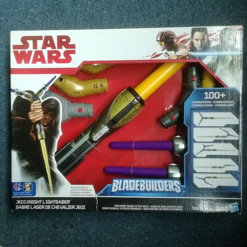 Star Wars E8 sabre Laser dark vador Luke Skywalker Obi-Wan Cosplay épée avec lumière LED Star Wars Laser épée avec boîte