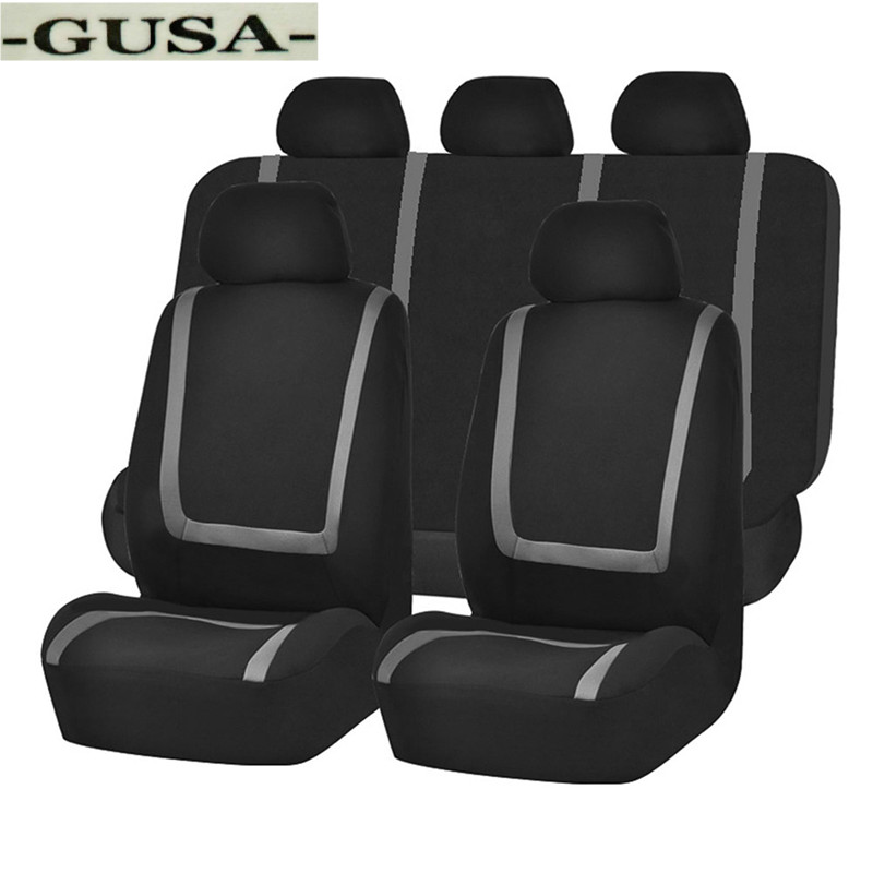 [GUSA] Auto GUSA car seat cover For jeep renegade GUSA compass <font><b>2019</b></font> <font><b>grand</b></font> <font><b>cherokee</b></font> covers for vehicle seats image