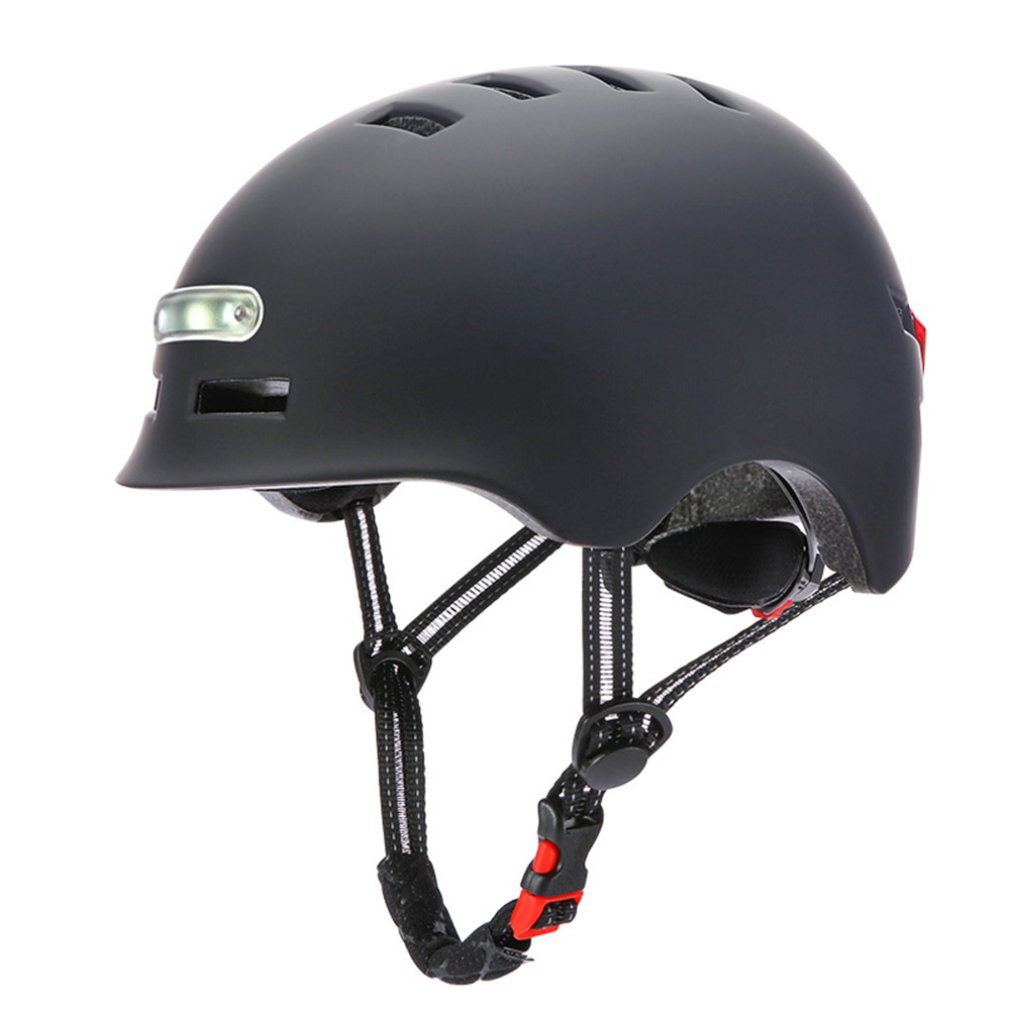 Bicycle Helmet Mtb Road Bike Bicycle Helmets With Usb Charging Light Protective Satety Helmets Night And Day