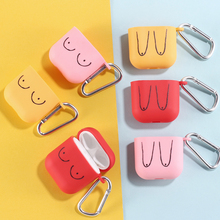 Earphone-Case Airpods-Pro Carabiner-Cover-Accessories for Apple Charging-Box Candy-Color