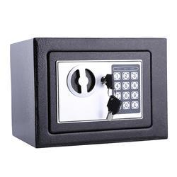 6.4l bloqueio de segurança digital caixa de armazenamento seguro para guardar dinheiro moedas de dinheiro jóias chave dinheiro