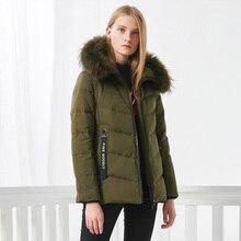 BOSIDENGผู้หญิงลงเสื้อฤดูหนาวหนาลงเสื้อกลางยาวจริงหนาParkaริบบิ้นกระเป๋าB70141058