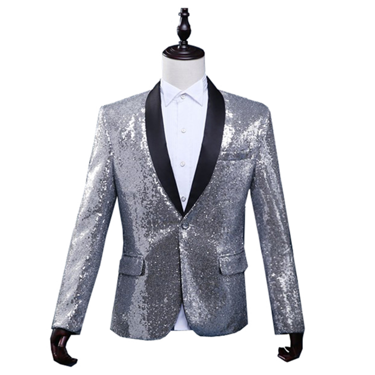 Sequin Suits The Clothes That Clubs And DJ Need The Most Shining Clothes Among People