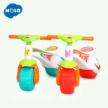 HOLA 2102 Toddlers Ride On Step Balance Bike Children Ride-On Toy Scooter Pedal Driving Bike Infant Baby Toys 1-3 years(China)