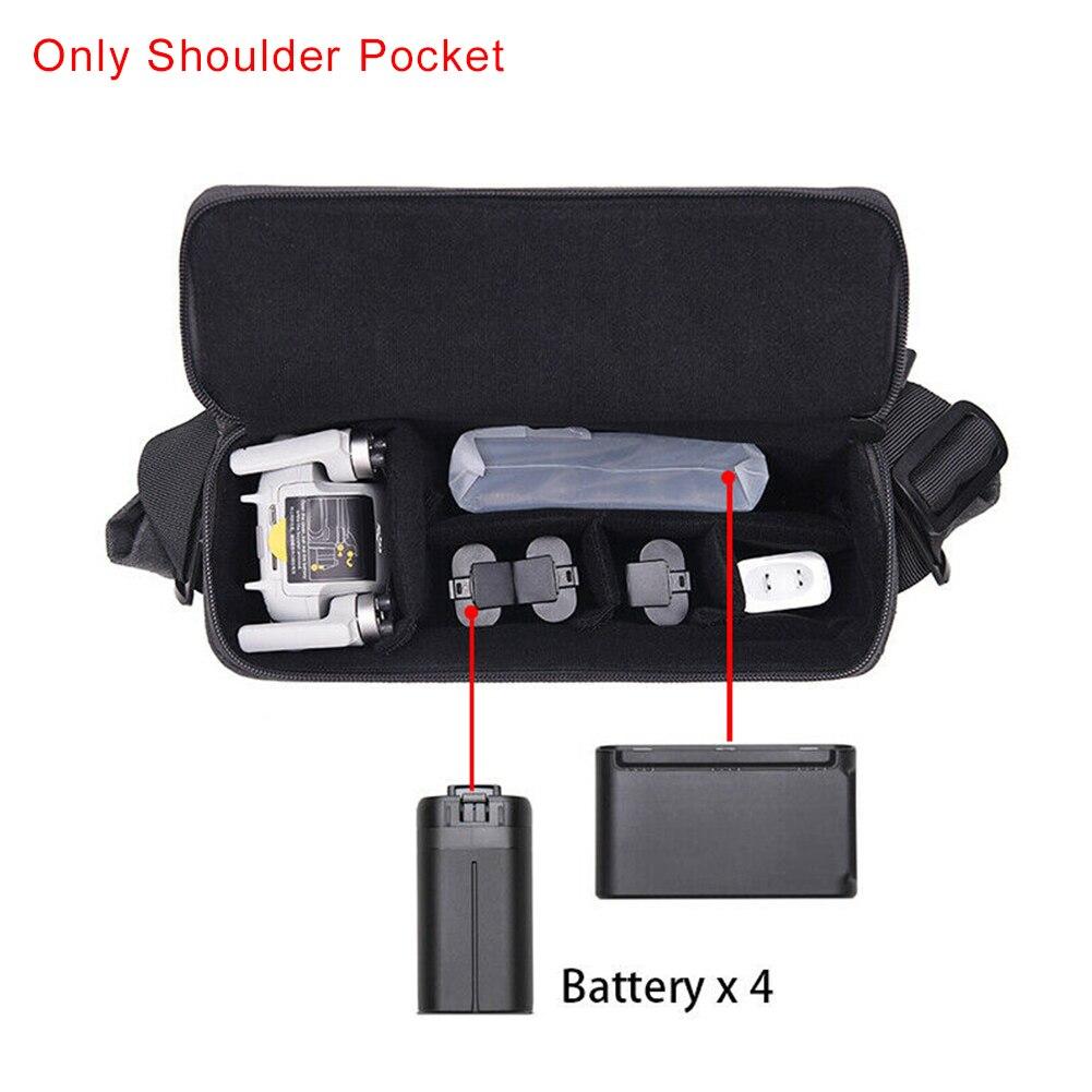 Аксессуары для путешествий, сумка на плечо с защитой от царапин, регулируемый ремень, водонепроницаемый, Холщовый, на молнии, для DJI Mavic Mini