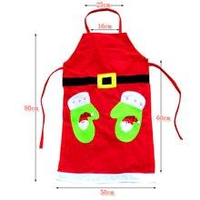 Рождественский снеговик/перчатки напечатанный кухонный фартук, приготовление пищи выпечки красный фартук