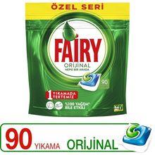 Fairy-cápsulas de detergente para lavavajillas todo en uno, serie especial, limpiador de platos desengrasante, abrillantador efectivo, 90
