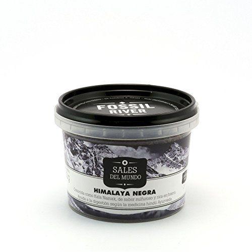 Sal Del Himalaya Negra Kala Namak - Caja De 6 X 120 Gr.
