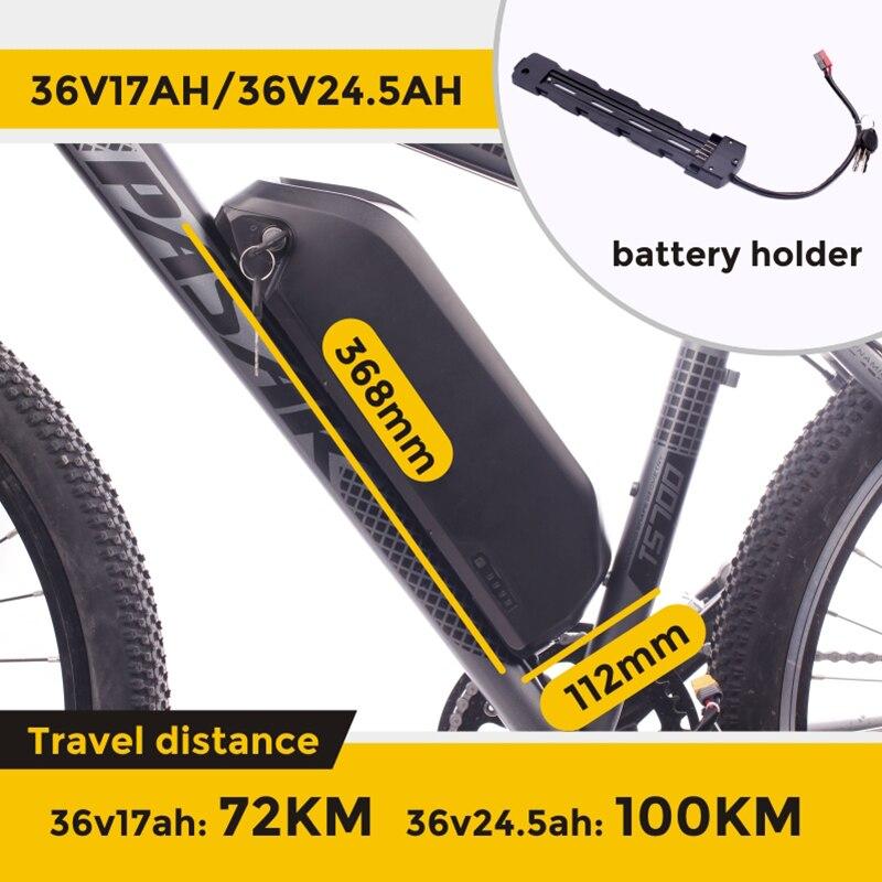 Bafang motor Bafang BBS01 BBS01B 250W 36v 24,5 ah Samsung batterie elektrische mid drive motor ebike elektrische fahrrad conversion kit