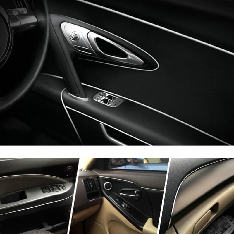 5M Orange car styling interior molding trim decorate strip line gap filler kitVU
