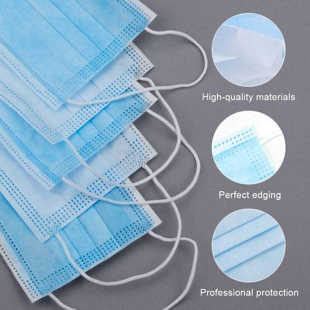 5pcs  9502V Protective Fold Masks Anti Dust Flu H1N1 PM 2.5 Multi Layer Filter Structure Industrial Fog enviroment 3