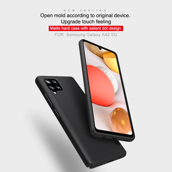 Case for Samsung Galaxy A42 5G Cover NILLKIN Super Frosted Shield matte hard back cover Mobile phone shell samsung case - discount item  30% OFF Mobile Phone Accessories