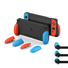 Yapış tetik artı kavrama kılıf anahtarı Nintendo NS joy con kapak