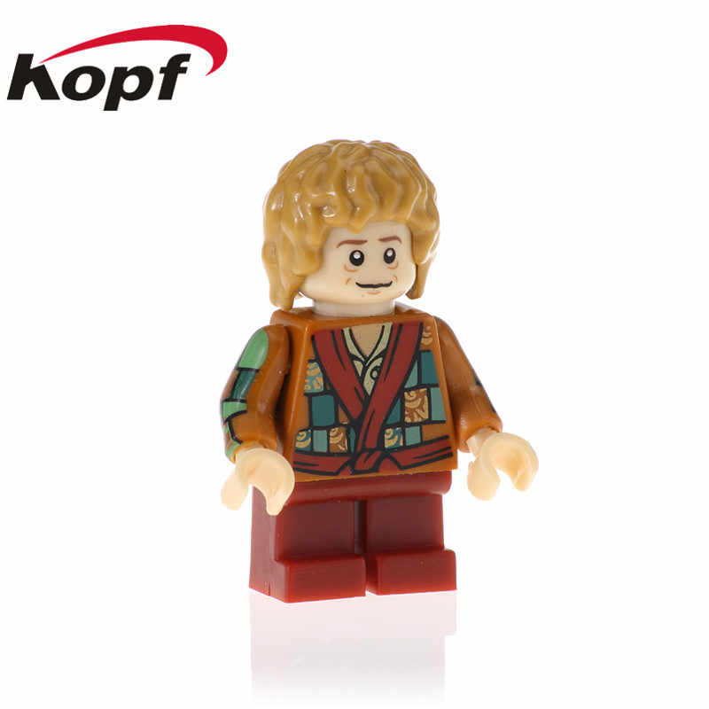 Enkele Verkoop Uruk-hai Yazneg Bilbo Bombur Bllbo Actiefiguren Baksteen Bouwstenen Leren Kerstcadeau Speelgoed Model Kid PG540