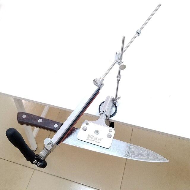 Nuovo RUIXIN 4 generazioni angolo Fisso temperamatite In Metallo Materiale coltello sistema di affilatura pietra Per Affilare Con pietre 2