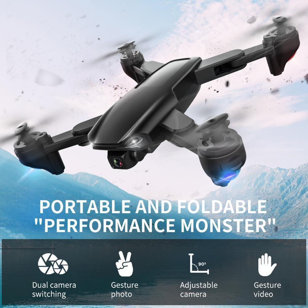 SG701 Mini Drone WIFI 5G Anti-shake Self-stabilizing Gimbal FPV 4K Camera Quadcopter Satellite Anti-lost Positioning