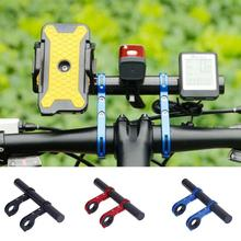 Cycling Handlebar Bicycle Flashlight Holder Handle Bar Accessories Extender Mount Bracket Bike New