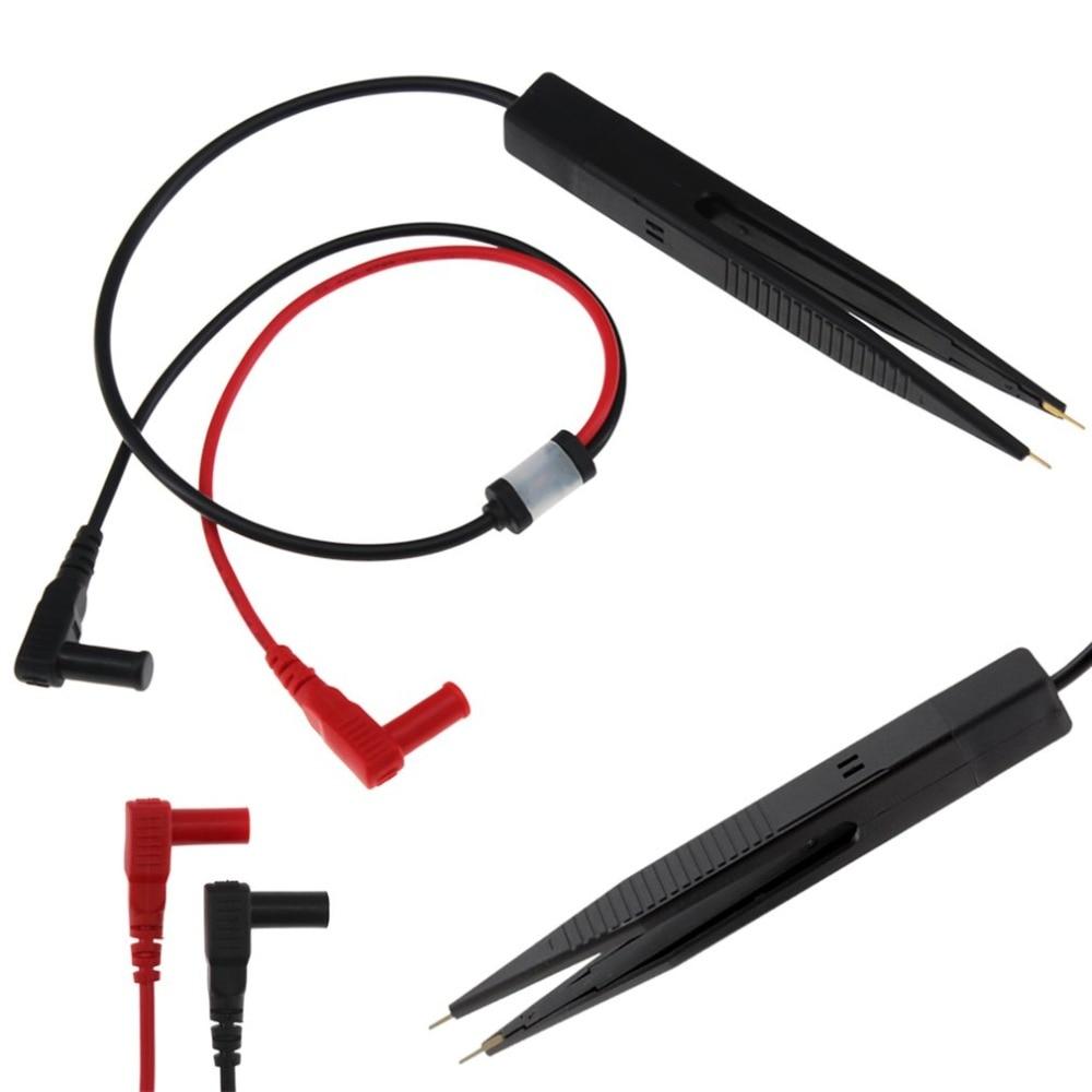 Voltmeter Test Clip Meter Probe Multimeter Tweezers Capacitor 250V Max