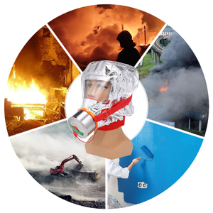 Image 5 - 60/40 minute Fire Eacape Mask Self rescue Respirator Gas Mask Smoke Protective Face Cover Personal Emergency Escape Hood