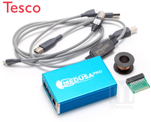 Medusa PRO Box Medusa Box with Octo plus frp Dongle and JTAG Clip MMC For LG For Samsung For Huawei with Optimus cable(China)