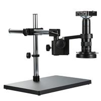 Full HD 38MP 2K 1080P electrónicos cámara de Video de microscopio de 120X 180X 300X compatible con HDMI USB lupa para reparación de soldadura