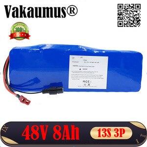 48V литий-ионный аккумулятор 8Ah 18650 перезаряжаемая литиевая батарея Встроенный 15A BMS для 350w 500w электрический велосипед ebike честный магазин