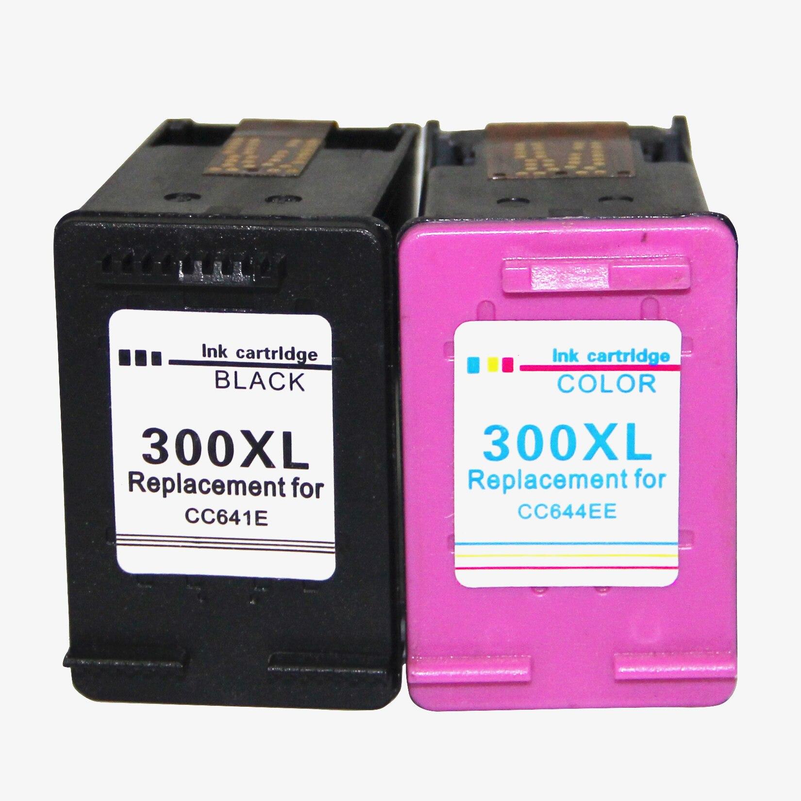 Remplacement pour HP 300 300XL Cartouches D'encre pour HP C4780 C4680 D1660 D1663 D2530 D2545 D2560 D2660 D5560 F2420 f4280 F4580