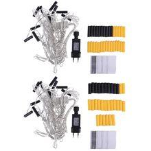 10 in 1 AA Batterie Eliminator Ersetzen 2x 3x AA AAA Batterien Power Adapter EU
