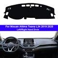 Накладка на приборную панель автомобиля  ковровое покрытие для Nissan Altima Teana L34 2019 2020 LHD RHD  автомобильный защитный коврик  Солнцезащитный коври...