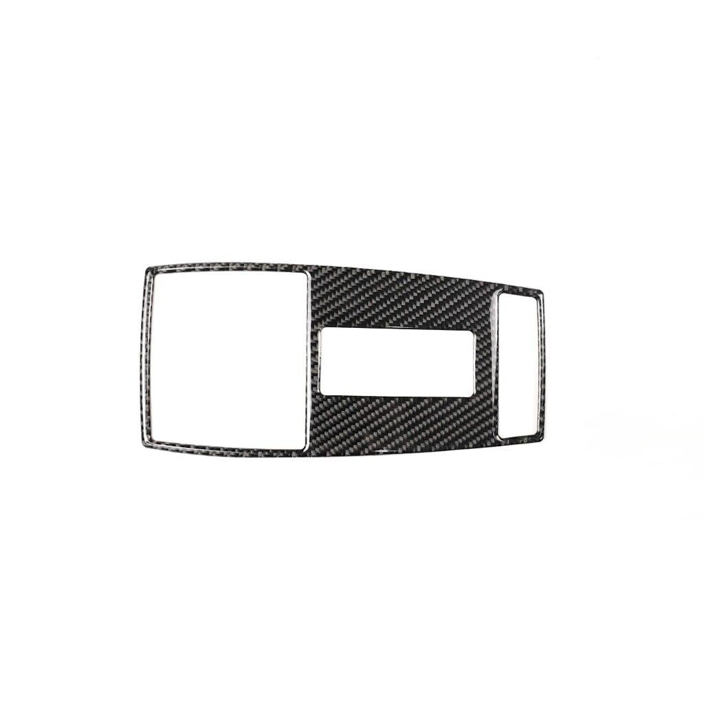 כורסאות טלויזיה עבור מרצדס בנץ W204 (07-13) W212 (10-12) Class C עם דבק משטח קריאה נורית בקרה הפנים מדבקה לרכב אביזרים (3)