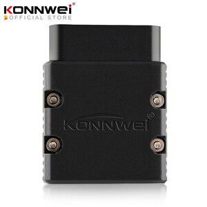 Image 1 - KONNWEI ELM327 scanner automatique avec protocole complet pour iPhone, iPad et Android PC, compatible avec IOS, V1.5 PIC25K80, KW902