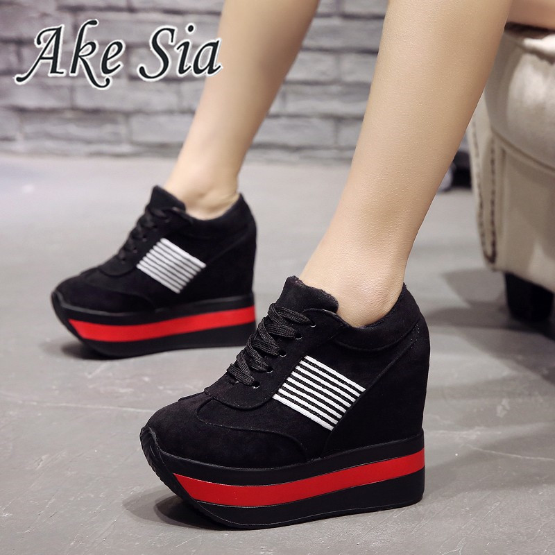 New Fashion Women Shoes 2019 Breathable Comfort Shopping Ladies Walking Shoes Summer Platform Shoes Women Heightening Shoes