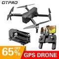 OTPRO dron Gps Drones con 4K Cámara wifi profissional Avión RC Quadcopter carrera helicóptero me sigue racing Drones RC de juguete