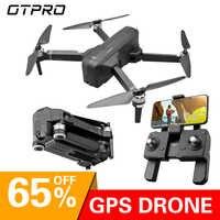 OTPRO dron Gps drony z 4K kamera wifi profissional zdalnie sterowany samochód Quadcopter wyścig helikopter śledź mnie wyścigi rc zabawki drony