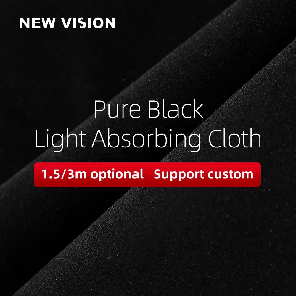 Чистый черный светильник, поглощающая ткань, маленький продукт для съемки, чистый черный фон, ткань, не Светоотражающая фоновая ткань