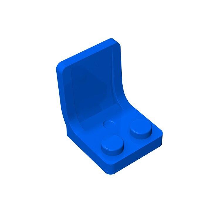20pcs/50pcs Building Blocks Parts Minifigure Utensil Seat Chair 2x2 Thick Building Bricks Parts Educational Creative Gift Toy